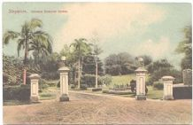 Collectible Old Singapore Postcard